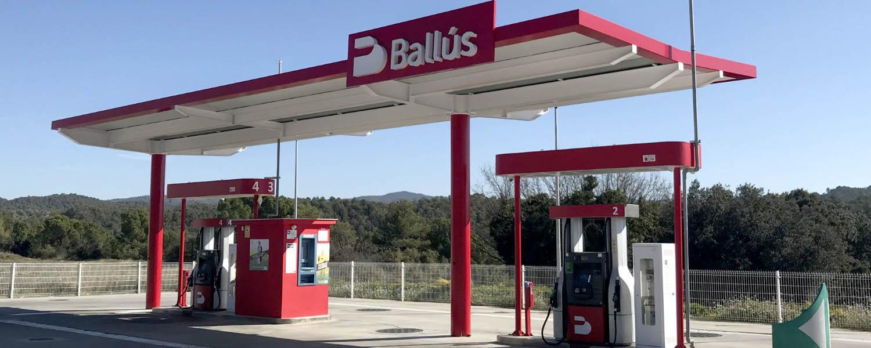 Estació de servei Ballús Baix Cost Cal Vidal