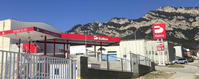 Estació de servei Ballús Baix Cost Valldan